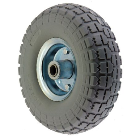 Roda maciça 350x4 PU Super Elástica