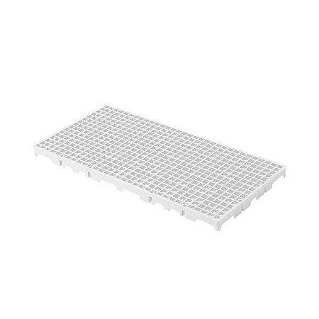 Estrado plástico 50x25cm branco