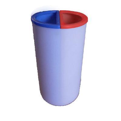 Lixeira MIX 100 litros com 2 divisões