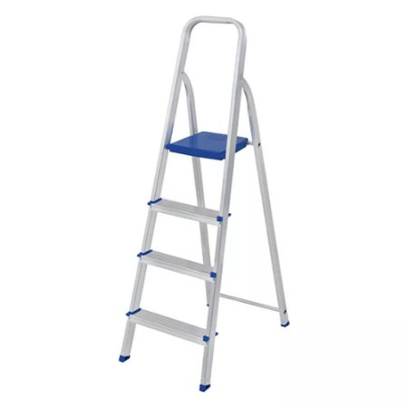 Escada em alumínio 4 degraus