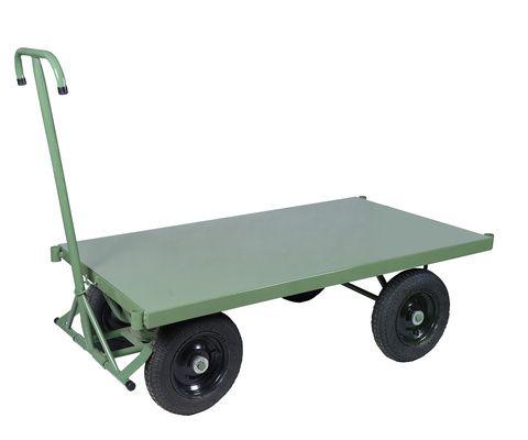 Carrinho plataforma lastro em chapa 0,60x1,0m