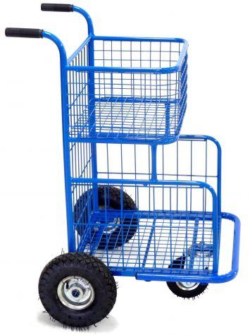 Carrinho para compras com 3 rodas