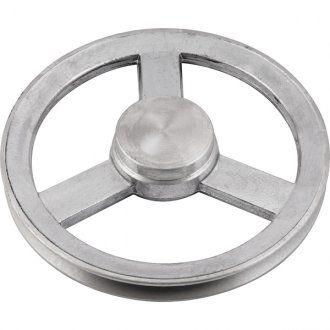 Polia de alumínio 1 canal A - 160 mm - Mademil