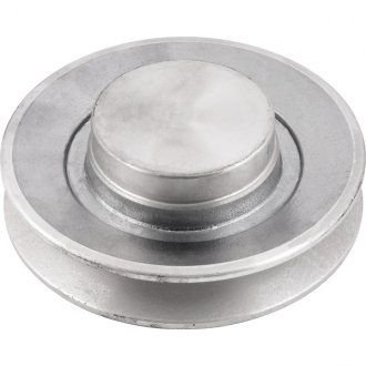 Polia de alumínio 1 canal B - 120 mm - Mademil