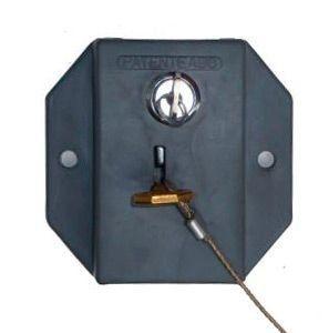 Trava de controle para carrinhos de condomínio com chave