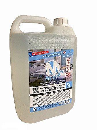 Álcool Líquido Etílico Hidratado 70° INPM - Meyor´s 5L