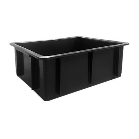 Caixa plástica 15 litros preta