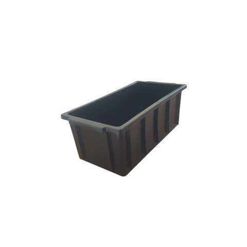 Caixa plástica 4 litros preta