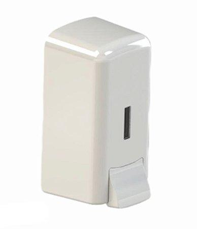 Dispenser para sabonete líquido/álcool em gel cor branco