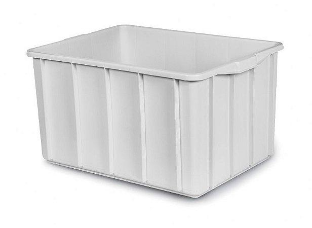 Caixa plástica 130 litros branca