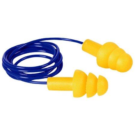 Protetor auditivo copolímero tipo plug 14 dB com cordão - Plastcor