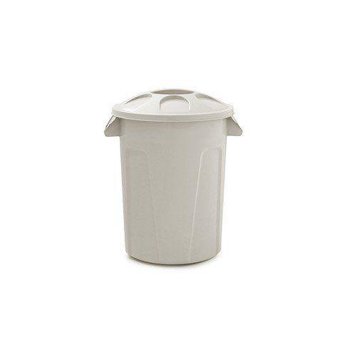 Cesto para lixo 60 litros com tampa Branco