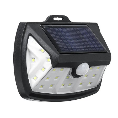 Luminária Solar LED 20W de Parede 28 Leds Energia Solar - 82933
