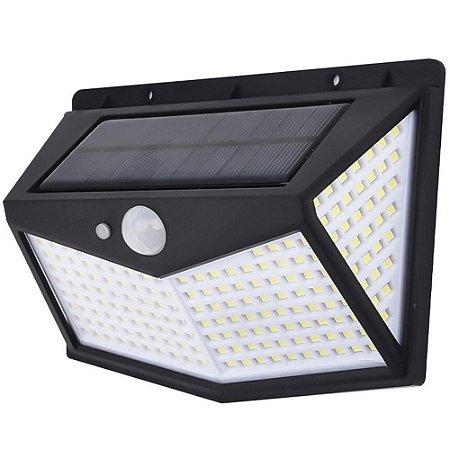 Luminária Solar 212 Leds Arandela de Parede 30w - 81694