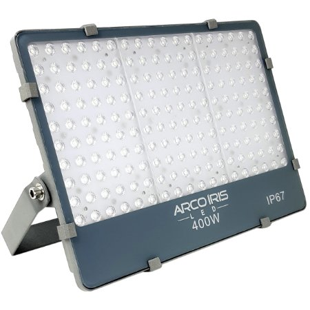 Refletor Holofote Microled 400w Branco Frio IP67 - 82725