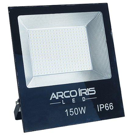 Refletor Holofote Led 150w  Microled Smd Branco Frio Ip66 - 66003