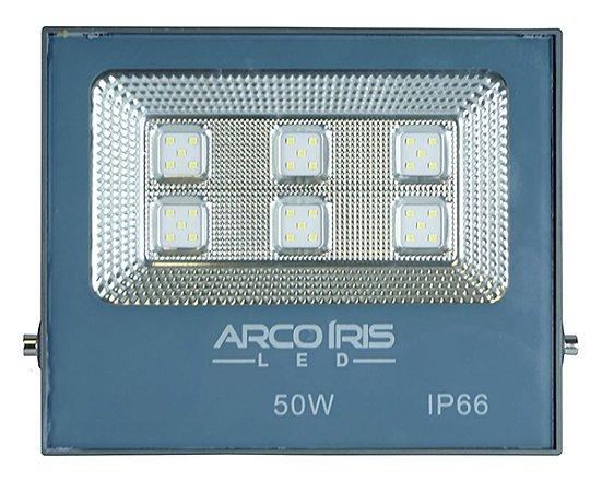 Refletor Multifocal  Super Led 50w Branco Frio - 61001