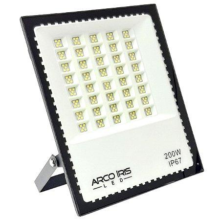 Refletor de LED 200w IP67 Área Externa-Interna - Preto - 82934