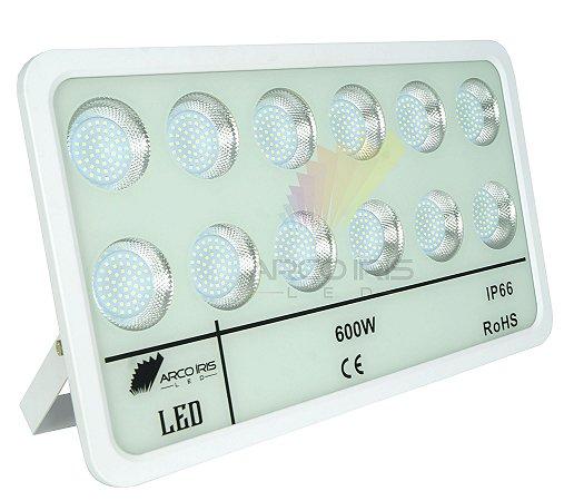 Refletor Holofote Micro Smd 600w IP66 Branco Frio - 82903