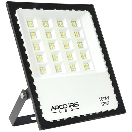 Refletor FloodLight 100w Branco Frio SMD IP67 - 82994