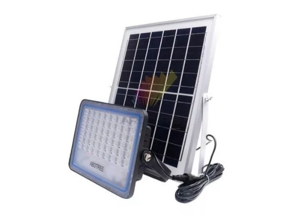 Refletor Led 300w IP67 com Placa Solar - 82921
