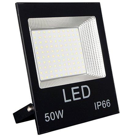 Refletor MicroLED 50w Super LED IP66 Branco Frio - 66001