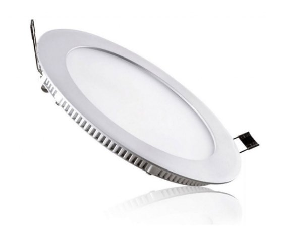 Plafon Led Redondo Embutir Ultra Slim 18w Branco Frio - 81333