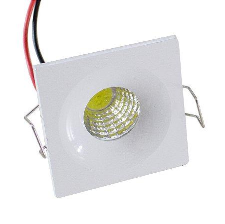 Spot LED Bidirecional 3W Quadrado - 81908