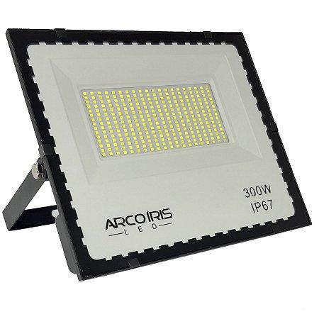 Refletor Mini Led 300w iP67 Floodlight Branco Frio - 83051