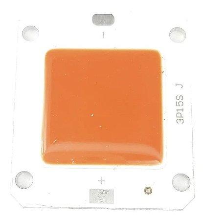 Chip Led 50w para Refletor Holofote Led  Vermelho Aquário - 83130