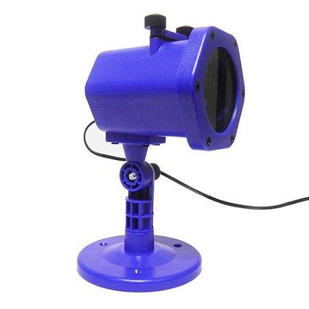 Projetor Holográfico para Decoração de Festas Infantis com 4 Cartuchos de Brinde