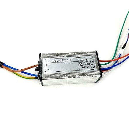 Reator para Refletor Led 10w RGB Colorido para Manutenção e Reposição - 83119