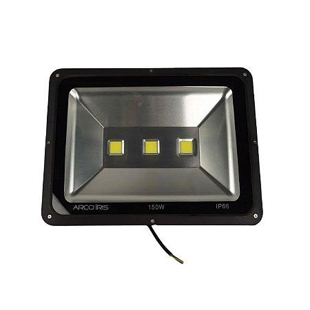 Refletor Led Holofote 150w Branco Frio IP66 - 81314