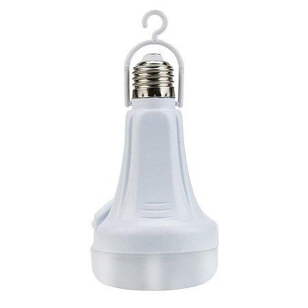 Lâmpada Emergência  Recarregável 15w Com Suporte Jardim - 82084