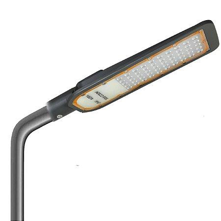 Luminária Pétala Led Smd 100w Iluminação Publica Poste  Ip67 Cinza - 82292