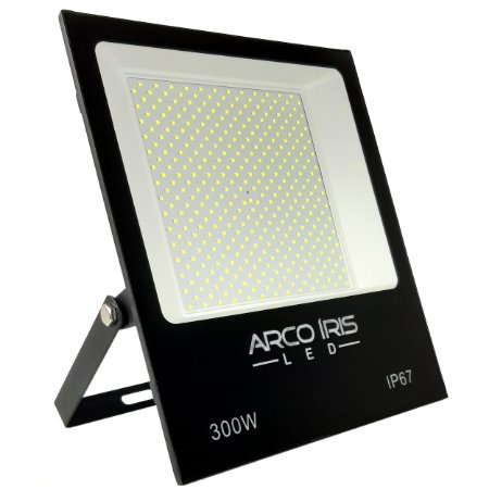 Refletor Super Led Slim 300w Branco Frio IP67 -  81671