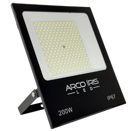Refletor Super Led Slim 200w Branco Frio IP67 - 82079