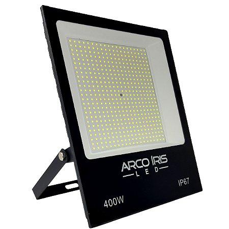 Refletor Super Led Slim 400w Branco Frio IP67 - 82358