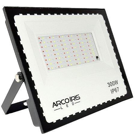 Refletor Led Mini 300w Rgb Colorido IP67 Bivolt  - 81735