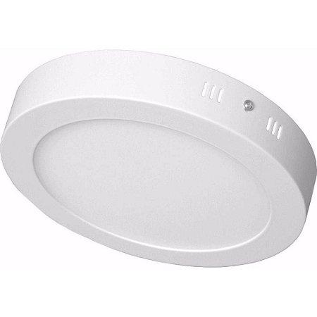 Plafon LED 25W Sobrepor Redondo Branco Quente- 81535