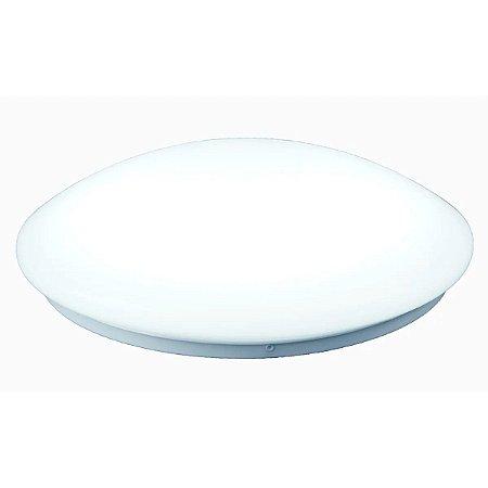 Plafon Redondo Baloado Sobrepor 12w Branco Frio - 61801