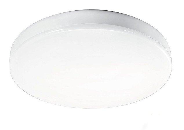 Plafon Led Redondo Sobrepor 12w Branco Quente - 61805