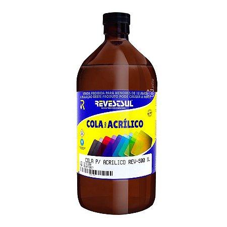 Rev-500 Cola para acrílico de secagem rápida 500 ml