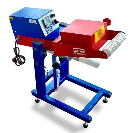 Thermo roller prensa térmica de giro para transfer