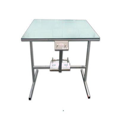 Mesa de luz com registro para gravação de matriz serigráfica Metal Printer