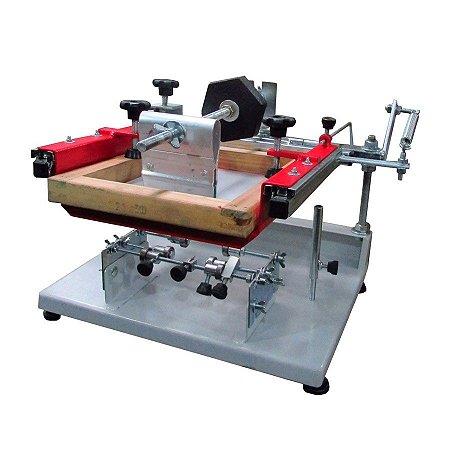 Hobby - Impressora serigráfica cilíndrica  Advance Metal Printer