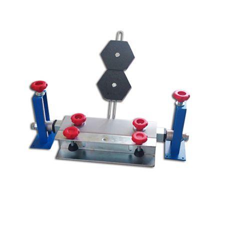 Garra import  Eixo com rolamento / regulagem XY para serigrafia Metal Printer