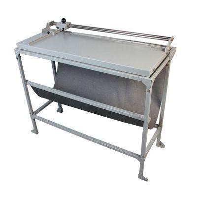 Refiladora duplo eixo 76 cm com mesa para papel, lona e vinil adesivo Excentrix