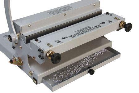 Encadernadora / perfuradora ofício conjugada wire-o (duplo anel) 3x1 Excentrix