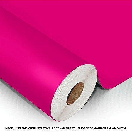 Interline - Vinil adesivo polimérico magenta (pink) brilho 61 cm de largura - Aplike